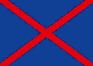 Flag-blå-rødtkryds-kor-i-depot-01